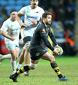 January 7th 2018, Ricoh Arena, Coventry, England;  Aviva Premiership rugby, Wasps versus Saracens; <br />