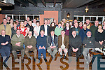 OPW RETIREMENT: Family and colleagues of Paddy OConnor, Killarney (seated fifth from left) who gathered in Molly Darcys, Killarney, on Friday night to honour his retirement from the Office of Public Works..