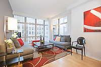 Living Room at 310 West 52nd Street