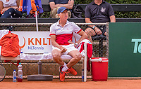 The Hague, Netherlands, 09 June, 2018, Tennis, Play-Offs Competition, coach Tom Nijssen (NED)<br /> Photo: Henk Koster/tennisimages.com