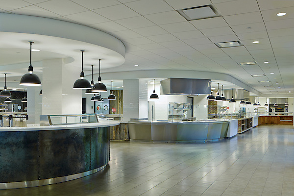 Dining Hall servery at Marist College, Poughkeepsie, NY
