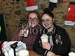 Anastasia and Kiera Bickmore at the Christmas fair in the Market house Duneer. Photo:Colin Bell/pressphotos.ie