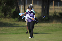 Amy Yang (KOR) on the 3rd fairway during Round 4 of the Ricoh Women's British Open at Royal Lytham &amp; St. Annes on Sunday 5th August 2018.<br /> Picture:  Thos Caffrey / Golffile<br /> <br /> All photo usage must carry mandatory copyright credit (&copy; Golffile | Thos Caffrey)