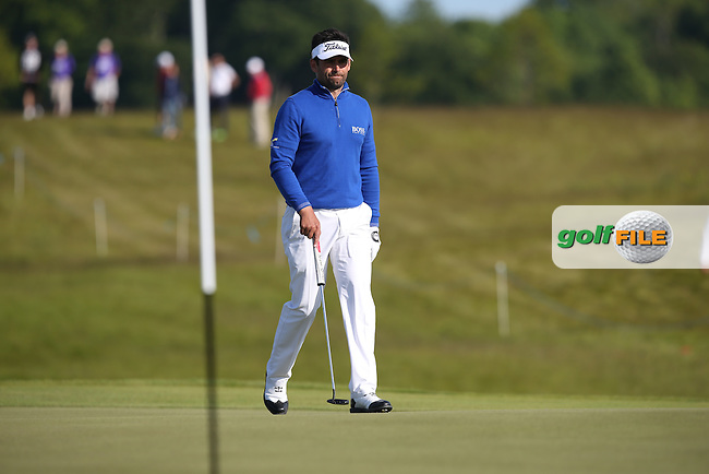 Lee Slattery (ENG) cards a 73 and good enough for the weekend during Round Two of the 2015 Nordea Masters at the PGA Sweden National, Bara, Malmo, Sweden. 05/06/2015. Picture David Lloyd | www.golffile.ie