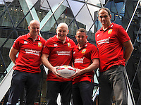 British & Irish Lions 2017 Tour media briefing at St Mary Axe, (Gherkin) London , England on January