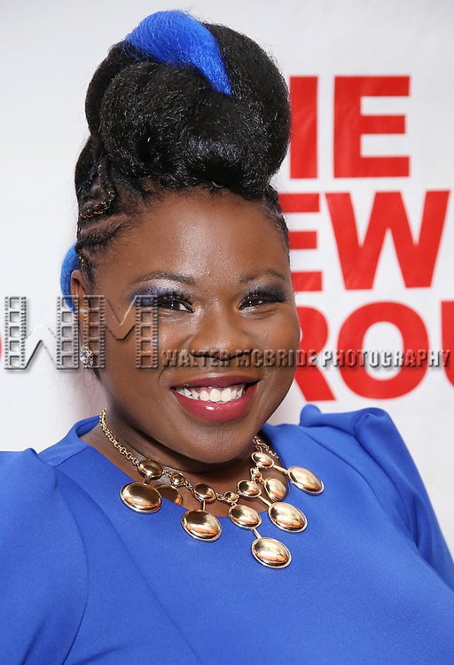 """Tiffany Mann attends the Off-Broadway Opening Night Premiere of  """"Jerry Springer-The Opera"""" on February 22, 2018 at the Green Fig Urban Eatery in New York City."""