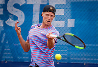 Amstelveen, Netherlands, 1 August 2020, NTC, National Tennis Center, National Tennis Championships, Men's final: Gijs Brouwer (NED)<br /> Photo: Henk Koster/tennisimages.com