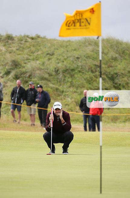 Richard Bland (ENG) at the 4th during Thursday's Round One at The 146th Open played at Royal Birkdale, Southport, England.  20/07/2017. Picture: David Lloyd | Golffile.<br /> <br /> Images must display mandatory copyright credit - (Copyright: David Lloyd | Golffile).