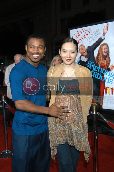 Shane Mosley and wife Jin