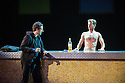 Scottish Opera and Music Theatre Wales present GHOST PATROL. Written by Louise Welsh and scored by Stuart MacRae. Picture shows: Nicholas Sharratt (as Sam) and James McOran-Campbell (as Alasdair).