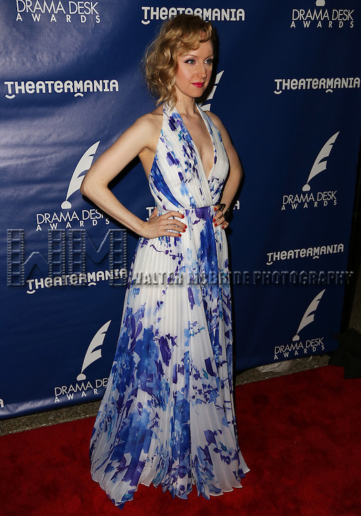 Erin Davie attends the 2015 Drama Desk Awards at Town Hall on May 31, 2015 in New York City.