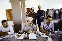 Irak 1991.Réunion du front du Kurdistan, le dejeuner avec Massoud Barzani.Iraq 1991.Meeting of the Kurdish front, lunch with Massoud Barzani