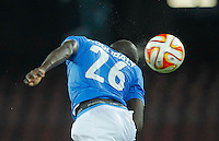Kalidou Koulibaly  during the Europa League   soccer match between SSC Napoli and Sparta Praha  at  the San Paolo   stadium in Naples  Italy , september 18 , 2014