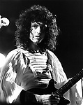 Queen 1974 Brian May.© Chris Walter.