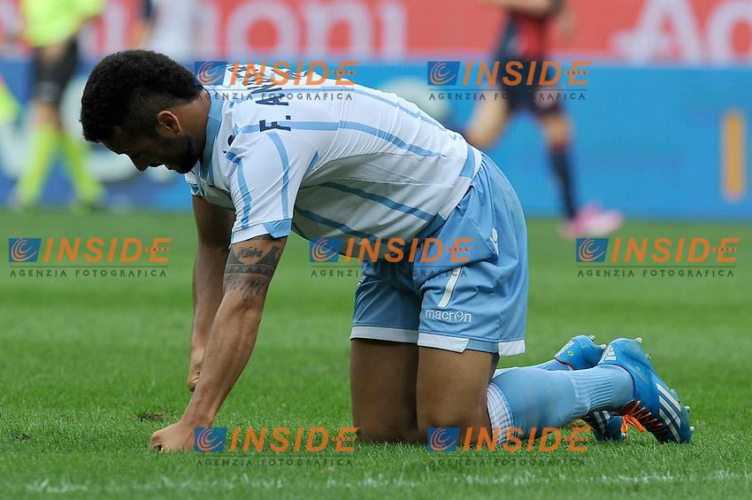 Felipe Anderson Lazio <br /> Genova 21-09-2014 Stadio Luigi Ferraris - Football Calcio Serie A Genoa - Lazio. Foto Insidefoto