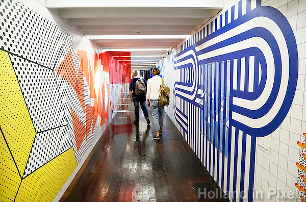 Nederland Eindhoven 2016 . DDW. Dutch Design Week. Strijp-S expositie. Disposition. Installation by Ulrike Jurklies. Foto Berlinda van Dam / Hollandse Hoogte