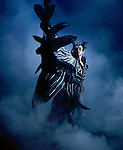 English National Ballet. Paul Lewis as Von Rothbart in Swan Lake