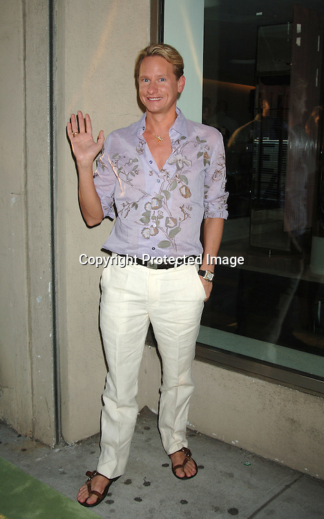 "Carson Kressley ..at The Danny Seo Book Party of his new book ""Simply Green: Parties With Friends"" on June 15, 2006 at The Stella McCartney Store. The party was sponsored by Country Home Magazine. ..Robin Platzer, Twin Images"