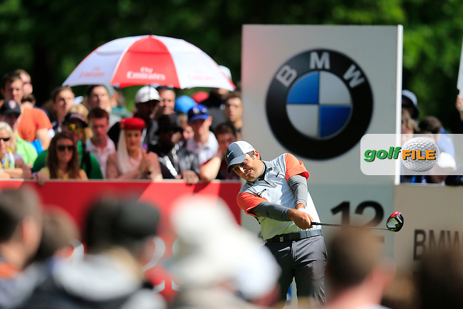 Francesco MOLINARI (ITA) during the final round of the BMW PGA championship, Wentworth Golf Club, Virginia Water, London.<br /> Picture: Fran Caffrey www.golffile.ie