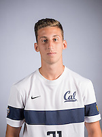 BERKELEY, CA - August 9, 2016: The Cal Bears 2016-2017 Men's Soccer Team Portraits and Team Photo