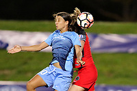 Piscataway, NJ - Saturday June 3, 2017: Samantha Kerr during a regular season National Women's Soccer League (NWSL) match between Sky Blue FC and the Portland Thorns at Yurcak Field.  Portland defeated Sky Blue, 2-0.