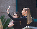 2015-05-17 Las Vegas Billboard Red Carpet arrovals out side MGM Grand Gardens , E News Entertainer Guiliana Rancic