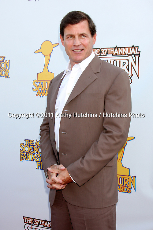 LOS ANGELES - JUN 23:  Michael Paré arriving at the 2011 Saturn Awards  at Castaways on June 23, 2011 in Burbank, CA