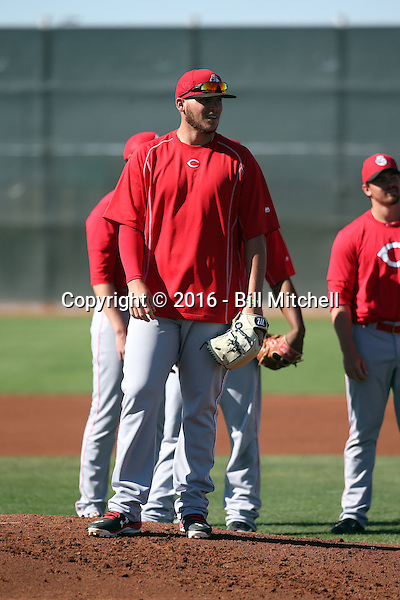 Rookie Davis - Cincinnati Reds 2016 spring training (Bill Mitchell)