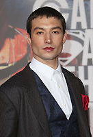 LOS ANGELES, CA - NOVEMBER 13: Ezra Miller at the Justice League film Premiere on November 13, 2017 at the Dolby Theatre in Los Angeles, California. Credit: Faye Sadou/MediaPunch