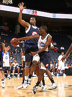 Gary Franklin handles the ball during the 1st day of the 2009 NBPA Top 100 Basketball Camp held Friday June 18, 2009 in Charlottesville, VA. Photo/ Andrew Shurtleff
