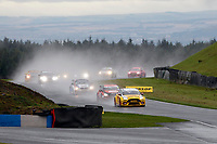 Round 8 of the 2018 British Touring Car Championship. Race three start.