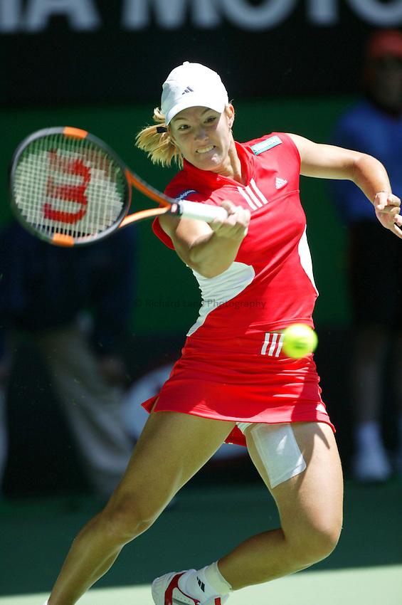 Justine Henin Hardenne, Australian Tennis Open 2004, Melbourne, Australia