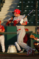 March 7 2010: Mitchell Garver of University of New Mexico during game against USC at Dedeaux Field in Los Angeles,CA.  Photo by Larry Goren/Four Seam Images