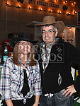Martin and Sinead Hampshire pictured at the barn dance in aid of Ballapousta National School at Oberstown Farm. Photo:Colin Bell/pressphotos.ie