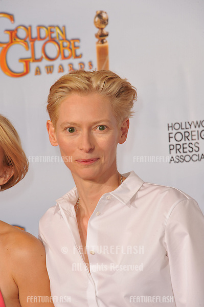 Tilda Swinton at the 68th Annual Golden Globe Awards at the Beverly Hilton Hotel..January 16, 2011  Beverly Hills, CA.Picture: Paul Smith / Featureflash