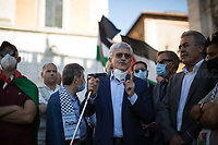 Massimo D'Alema second attempt to speak.<br />