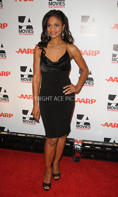 WWW.ACEPIXS.COM . . . . . ....February 7 2011, LA....Actress Kimberly Elise arriving at the AARP Magazine 10th Annual Movies For Grownups Awards at the Beverly Wilshire Four Seasons Hotel on February 7, 2011 in Beverly Hills, CA....Please byline: PETER WEST - ACEPIXS.COM....Ace Pictures, Inc:  ..(212) 243-8787 or (646) 679 0430..e-mail: picturedesk@acepixs.com..web: http://www.acepixs.com