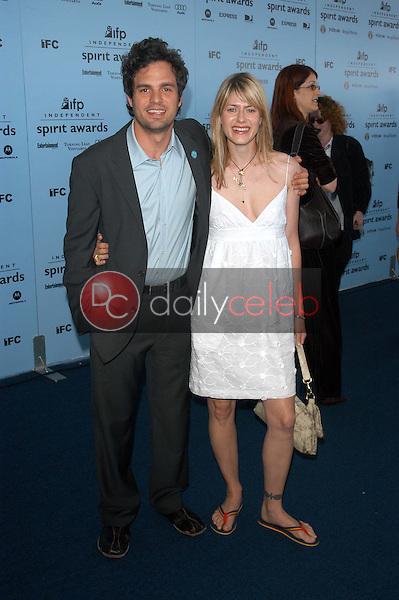 Mark Ruffalo and wife Sunrise