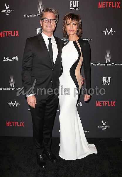 08 January 2016 - Beverly Hills, California - Harry Hamlin, Lisa Rinna. 2017 Weinstein Company And Netflix Golden Globes After Party held at the Beverly Hilton. Photo Credit: F. Sadou/AdMedia