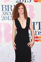 Jess Glynne arriving at The Brit Awards 2015 (Brits) held at the O2 - Arrivals, London. 25/02/2015 Picture by: James Smith / Featureflash