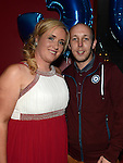 Jason Kerr celebrating his 30th birthday in Brú with girlfriend Leanne Everitt. Photo: Colin Bell/pressphotos.ie
