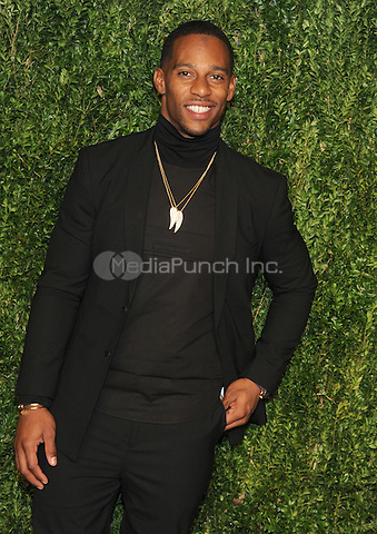 NEW YORK, NY - NOVEMBER 07: Victor Cruz attends 13th Annual CFDA/Vogue Fashion Fund Awards at Spring Studios on November 7, 2016 in New York City. Photo by John Palmer/ MediaPunch