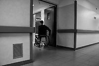 Milano: reparto di malattie infettive dell'Ospedale Sacco.<br /> <br /> <br /> <br /> <br /> Milan: Department of Infectious Diseases Sacco Hospital.