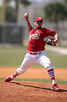 March 19, 2010:  Pitcher Marco Gonzalez of the St. Louis Cardinals organization during Spring Training at the Roger Dean Stadium Complex in Jupiter, FL.  Photo By Mike Janes/Four Seam Images