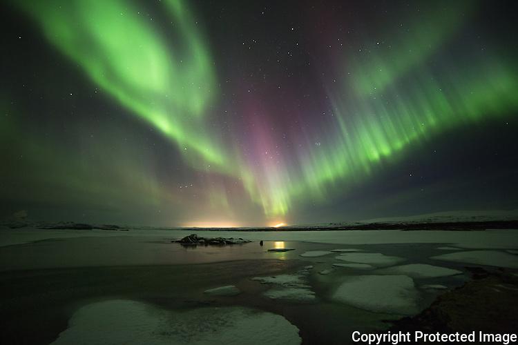 Aurora & Ice