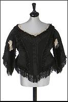 Queen Victoria's black silk bodices for sale.