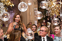Orlando &amp; H&eacute;l&egrave;ne S&eacute;gara : &quot; The Best &quot; 40th Edition &agrave; l'h&ocirc;tel George V.<br /> France, Paris, 27 janvier 2017.<br /> ' The Best ' 40th Edition at the George V hotel in Pais.<br /> France, Paris, 27 January 2017