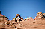 UT: Utah; Arches National Park     .Photo Copyright: Lee Foster, lee@fostertravel.com, www.fostertravel.com, (510) 549-2202.Image: utarch204
