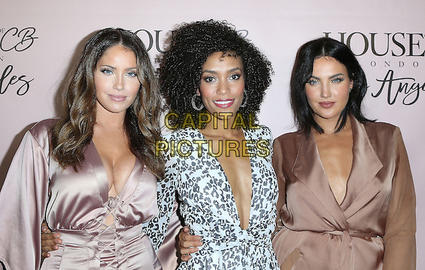14 June 2016 - West Hollywood, California - Olivia Pierson, Annie Ilonzeh, Natalie Halcro. House of CB Flagship Store Launch held at The House of CB Store. <br /> CAP/ADM/SAM<br /> &copy;SAM/ADM/Capital Pictures