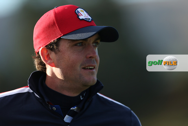 Keegan Bradley (USA) during the 2014 Ryder Cup from Gleneagles, Perthshire, Scotland. Picture:  David Lloyd / www.golffile.ie